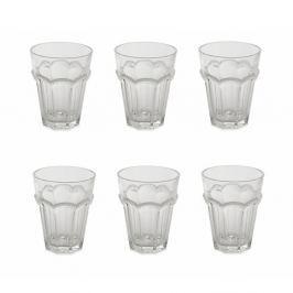 Sada 6 sklenic na vodu Villa d'Este Acqua, 270 ml