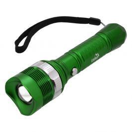 Zelená kapesní LED svítilna Cattara ZOOM