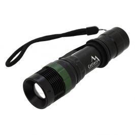 Černá kapesní LED svítilna Cattara ZOOM