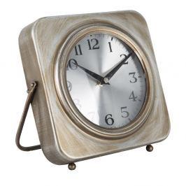 Stolní hodiny Mauro Ferretti Pull Gold,20x20cm