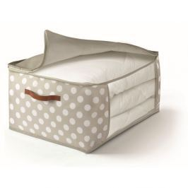 Béžový uložný box na přikrývky Cosatto Jolie,45x60cm