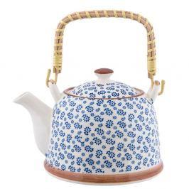 Čajová porcelánová konvička Clayre&Eef, 700 ml