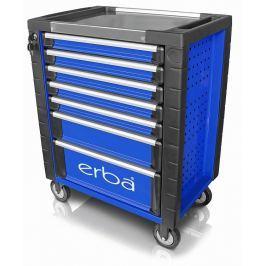 ERBA Dílenský vozík 7 uzamykatelných zásuvek, bez nářadí ER-14221