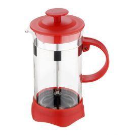 RENBERG Konvička na čaj a kávu French Press 600 ml červená RB-3108cerv