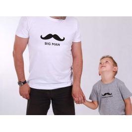 Set Big Man & Small Man (cena za obě trička)