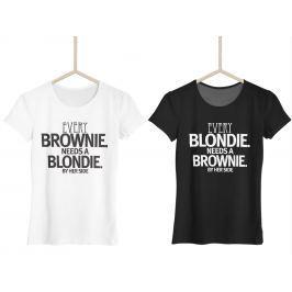 Brownie & Blondie (set dvou triček)