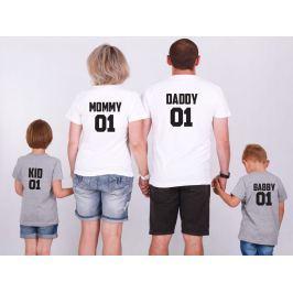Set triček Family 01