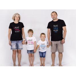 Set triček Nejlepší rodina na světě