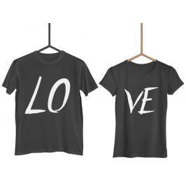 Párová trička Love (cena za obě trička)