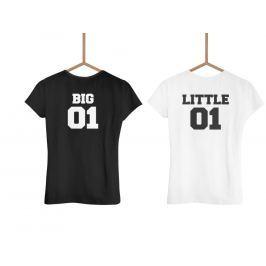 Big and little (set dvou triček)