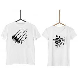 Párová trička Beaty & Beast (cena za obě trička)