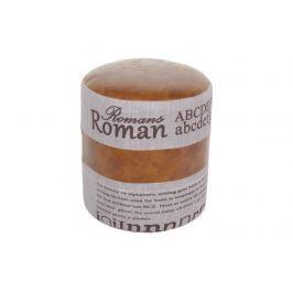 Tempo Kondela ROMAN 1 taburet, tmavě hnědá/šedá