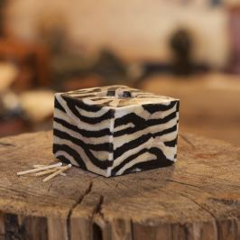 Svíčka New Zebra Kostka
