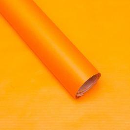 Balicí papír, natura, oranžový