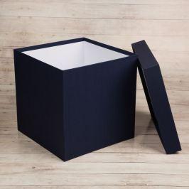 Dárková krabice Tom, modrá natur