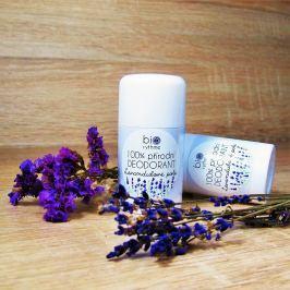100% přírodní deodorant Levandulové pole