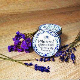 Relaxační pleťový krém - Arganový olej, levandule