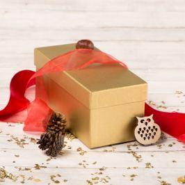 Dárková krabice Jana, zlatý natur
