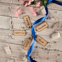 Dřevěné jmenovky na dárek Vyberte si jméno: Klára