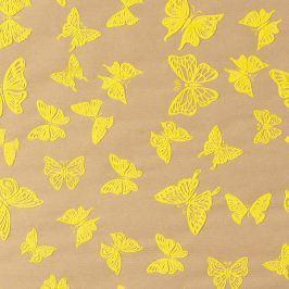 Designový balicí papír s motýlky