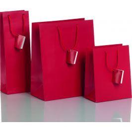 Dárková taška červená Vyberte si druh tašky: taška střední - 18 x 10 x 22,7 cm