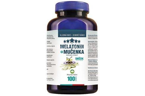Dárek Pharma Activ Melatonin Mučenka 80 tbl. + 20 tbl. ZDARMA Spánek