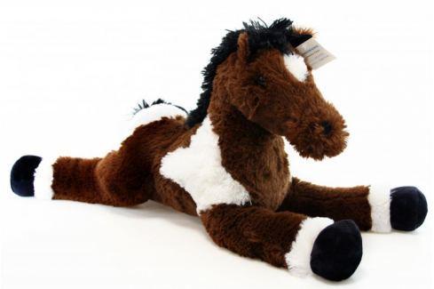 Dárek Lamps Kůň 62 cm plyš Cpané plyšové hračky