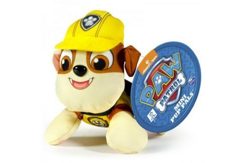 Dárek Spin Master Paw Patrol Plyšová postavička Rubble 10 cm žlutá Cpané plyšové hračky