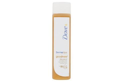 Dárek Dove Tělový olej Derma Spa Goodness³ (Silky Body Oil) 150 ml Tělové oleje
