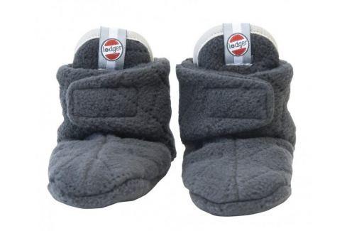 Dárek Lodger Slipper Fleece Scandinavian Coal 16 tmavě šedá Obuv