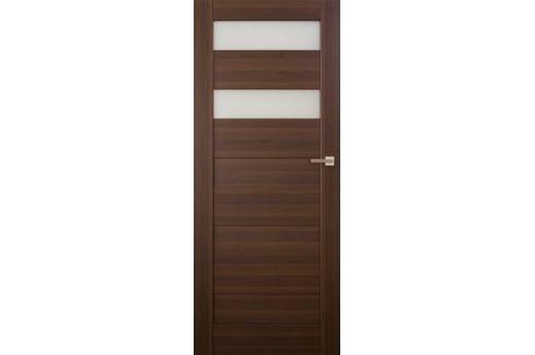 Dárek VASCO DOORS Interiérové dveře SANTIAGO kombinované, model 5, Merbau, A Produkty