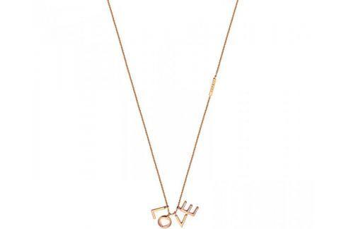 Dárek Esprit Bronzový náhrdelník Love Amory ESNL00231342 stříbro 925/1000 Náhrdelníky