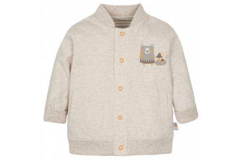 Dárek G-mini dětský oboustranný kabátek Sobík béžová 62 Produkty