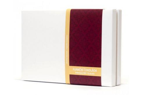 Dárek Vitalo Prémiový mix 10 druhů - variety pack - funkční čokolády 100 g (10 x 2 ks) Čokoláda