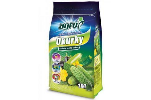 Dárek AGRO CS Organominerální hnojivo pro okurky, cukety a jiné tykve 1 kg Hnojiva
