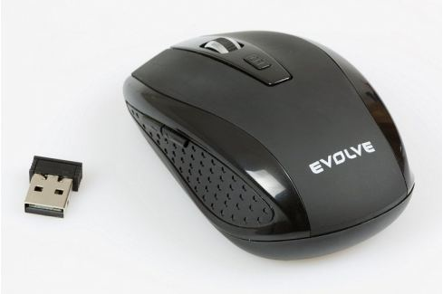 Dárek Evolveo WM-242B bezdrátová myš, 1600DPI, 2.4GHz, Nano příjímač, USB Produkty
