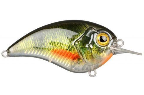 Dárek Spro Wobler Ikiru Flat Crank 55 Green Perch 5,5 cm 8 g Wobblery