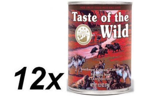 Dárek Taste of the Wild Southwest konzerva 12 x 390g Konzervy pro psy