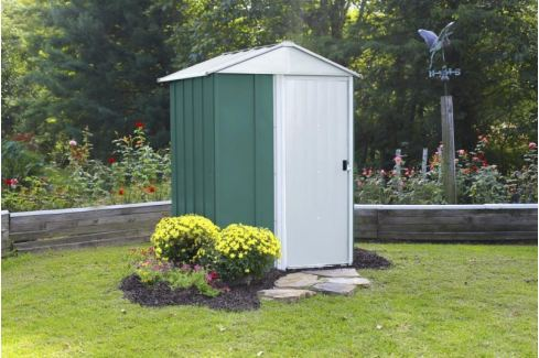Dárek Arrow zahradní domek ARROW DRESDEN 54 zelený Domky kovové, plastové