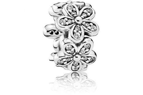 Dárek Pandora Stříbrný oddělující korálek Sedmikrásky 792053CZ stříbro 925/1000 Přívěsky