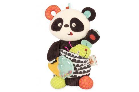 Dárek B.toys Party Panda pro nejmenší Hračky na cesty