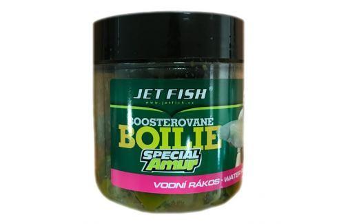 Dárek Jet Fish Boosterované Boilie Special Amur 20 mm 120 g vodní rákos Boilies