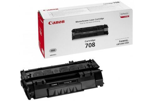 Dárek Canon CRG-708Bk, černý (0266B002) Spotřební materiál