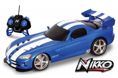 Dárek Nikko RC Dodge Viper 1:16 - zelený - II. jakost Auta, motorky