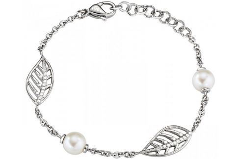 Dárek Morellato Romantický náramek s pravými perlami Foglia AKH18 Náramky