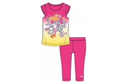 Dárek Mix 'n Match dívčí letní set 98 růžová Dětské soupravy