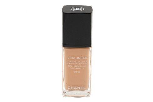 Dárek Chanel Make-up pro mladší a odpočatý vzhled Vitalumiére (Satin Smoothing Fluid Make-up SPF 15) 30 ml (Odstí Make-upy