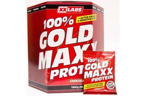 Dárek XXlabs 100% Gold Maxx Protein 1800g Jahoda Po tréninku