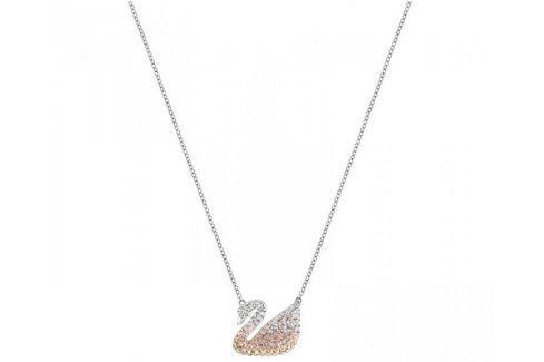 Dárek Swarovski Luxusní labutí náhrdelník ICONIC SWAN 5215034 Náhrdelníky