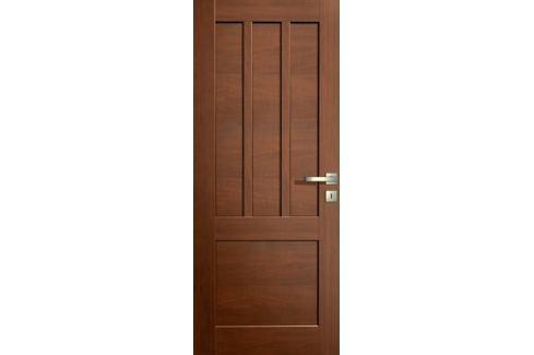 Dárek VASCO DOORS Interiérové dveře LISBONA plné, model 2, Ořech, A 80 cm, levé
